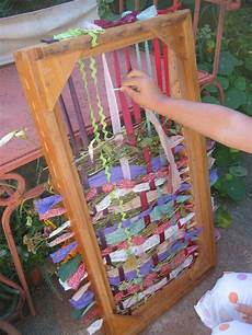 fabric crafts frames diy loom for kiddos for my tactile two and four