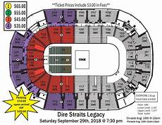 St Charles Family Arena Seating Chart With Seat Numbers Cancelled Dire Straits Legacy