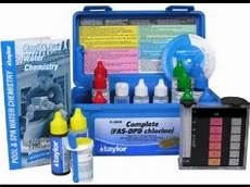 Best Pool Water Test Kit Which Kind Is It Youtube