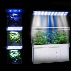 Led Black Light For Fish Tank Large Aquarium Clip Lamp Light 28 Led 3 Modetouch Control