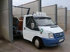 Transit Van Roof Lights 2007 2014 Ford Transit Mk7 Stainless Steel Front Van