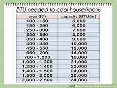 Sq Chart Image Result For Chart For Btu Room Size Square Foot