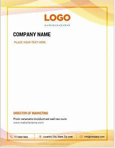 Letter Head Template Word 10 Best Letterhead Templates Word 2007 Format Microsoft
