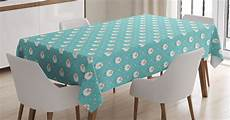 tables clothes goat goat tablecloth retro style animal pattern with dots