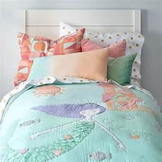 mermaid bedding the land of nod