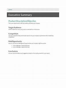 Executive Summary Word Template 10 Executive Summary Templates Word Excel Powerpoint