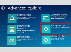 How to enter Windows 10 Trouble Shoot for system restore