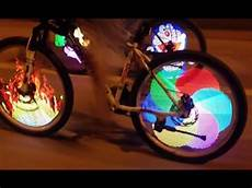 Bicycle Wheel Lights Youtube Tutorial On Installation Of Bicycle Tire Spoke Led Light
