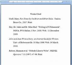 Work Cited Examples Works Cited Examples The Writing Center