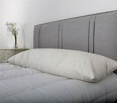 bed size duck feather bolster pillow with free