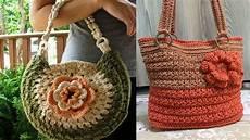crochet bolsos bolsos modernos tejidos a crochet