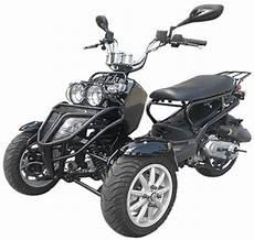 150cc Three Wheel Ruckus Style Trike Scooter Moped