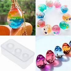 silicone mold egg molds epoxy resin crafts diy jewelry