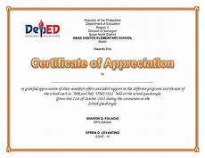 Example Of Certificate Of Appreciation For Guest Speaker Certificate Of Appreciation Uno