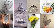 crafts diy 20 diy chicken wire crafts that will fascinate you