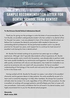 Dental Assistant Recommendation Letter Recommendation Letter For Dentist Writing Amp Editing Help