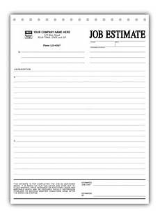 Job Estimates Personalized Job Estimates Printing
