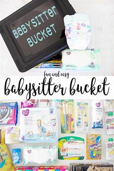 Babysitting Ideas For Summer Babysitter Bucket With Babysitting Activities And Must