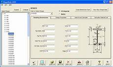 Structural Steel Reference Software And Shapes For Autocad