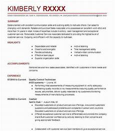 Quality Control Technician Resumes Quality Control Technician Resume Sample Livecareer