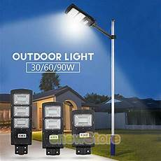 Led Yard Light Pole Mount Solar Led Street Light Flood Outdoor Pole Mount Lamp Area