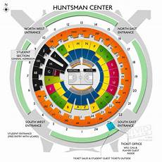 Huntsman Center Seating Chart Huntsman Center Seating Chart Vivid Seats