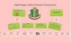 Alpha Chart Alpha Kappa Alpha Sorority Inc Wbj By Wanda Joseph On Prezi