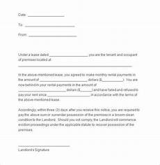 Tenant Notice To Quit Template Notice Templates 104 Free Word Pdf Format Download