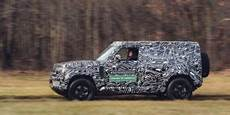 Jaguar Land Rover Defender 2020 by Land Rover Purists Skeptical Of New 2020 Defender Trucks