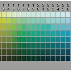 Plant Color Chart The Munsell Color Chart As Used By The World Color Survey