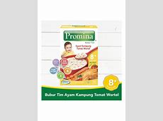 Promina Bubur Tim Ayam Kampung Tomat & Wortel Box 100G
