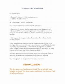 Letters Offering Employment Offer Of Employment Letter 3 Easy Steps