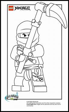 Malvorlagen Ninjago Lego Ninjago Cole Coloring Pages Minister Coloring