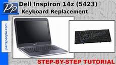 Dell Inspiron Keyboard Light Not Working Dell Inspiron 14z 5423 Keyboard Video Tutorial Teardown