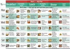 2 Week Meal Planner Wk 2 Meal Plan Tania Zaetta Program