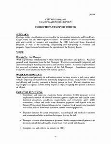 Resume For Correctional Officer Position Correctional Officer Resume No Experience Http Www