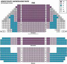 Huntington Center Seating Chart With Seat Numbers Ticket Prices Amp Seating Huntington Theatre Company
