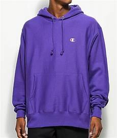 Light Purple Hoodie Mens Champion Reverse Weave Purple Hoodie