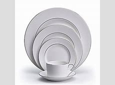 Blanc sur Blanc formal fine china, dinnerware by Vera Wang