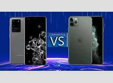 Samsung Galaxy S20 Ultra vs iPhone 11 Pro Max: comparaison