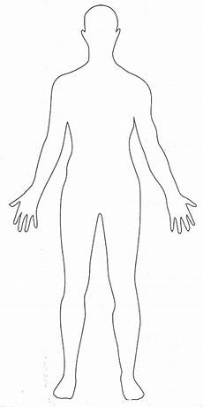 Human Outline Human Body Outlines Word Excel Pdf Formats