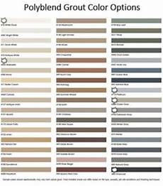 Grout Colour Chart Australia Polyblend Grout Renew Color Chart Bathroom Remodels