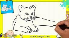 dibujos de gatos como dibujar un gato facil paso a paso para ni 241 os y