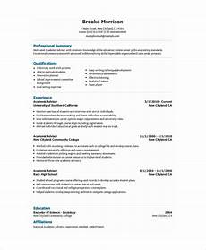 Academic Cv Format Download Academic Resume Template 6 Free Word Pdf Document