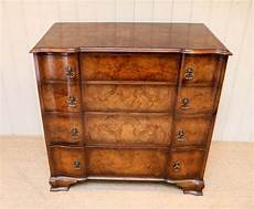 burr walnut chest of drawers antiques atlas
