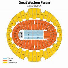 Forum Seating Chart Forum Seating Chart Concert Unouda