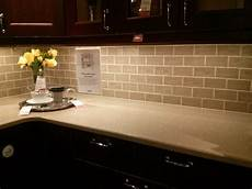 Kitchen Subway Tile Backsplash How To Create A Backsplash With Different Types Of Tiles