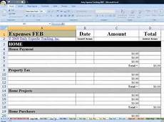Daily Expense Tracker Excel Daily Expense Tracking Excel Budgeting Workbook Demo Youtube