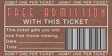 Free Printable Movie Tickets Family Strong Free Printable Movie Night Tickets