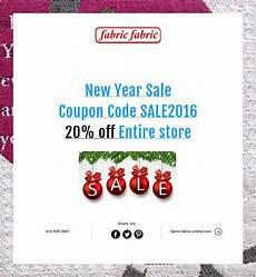 New Year Coupons New Year Sale Coupon Code Sale2016 20 Off Entire Store